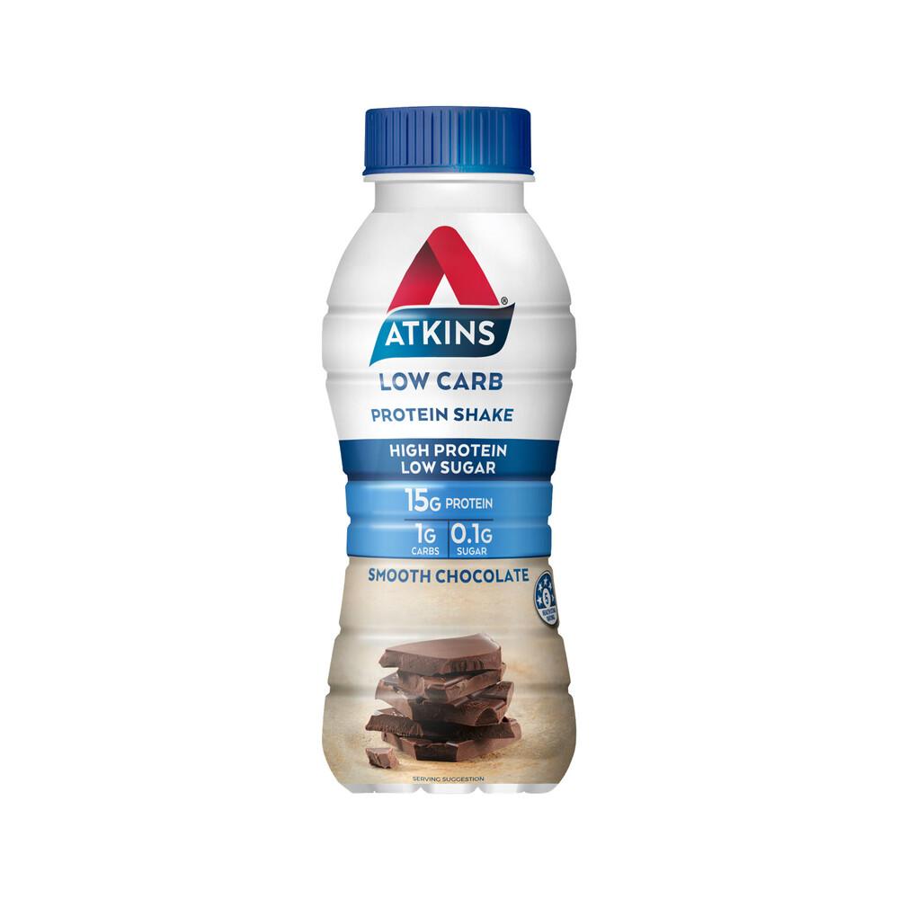 Atkins Low Carb Chocolate Flavour Protein Shake 330 mL 5060074632724 | eBay
