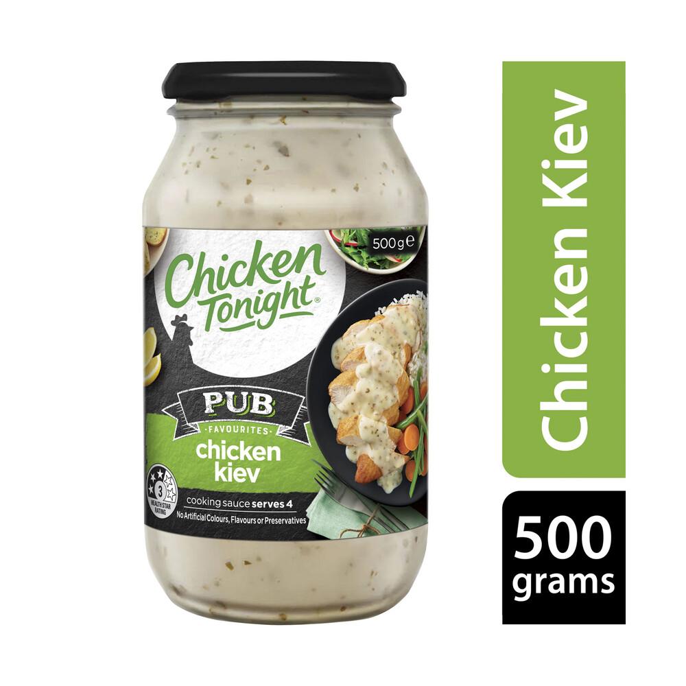 Chicken Tonight Pub Favourites Chicken Kiev 500g Ebay