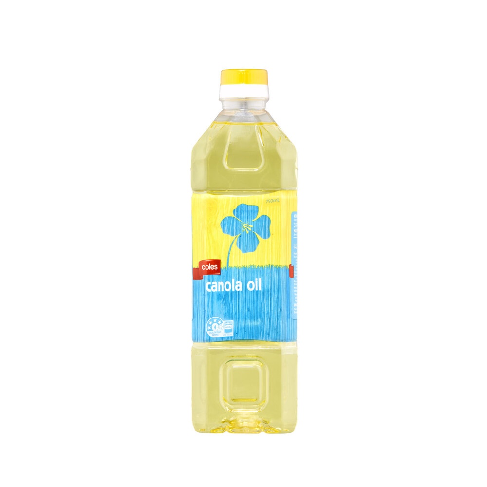 Coles Canola Oil 750ml Ebay